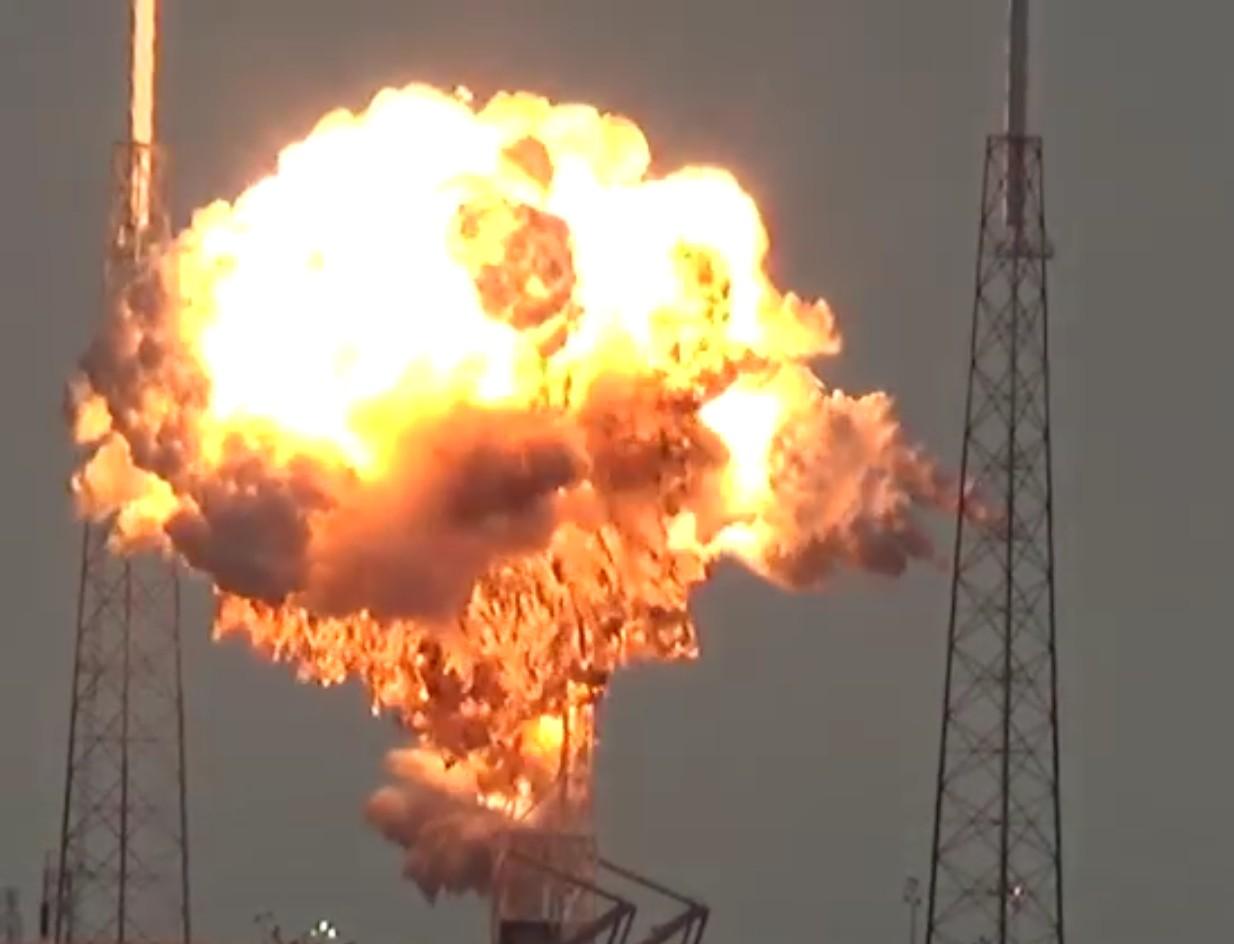 Уфолог: Ракета Falcon-9 была взорвана инопланетянами
