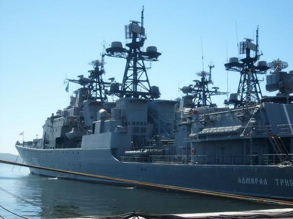 Русские корабли направились в КНР для участия всовместном учении