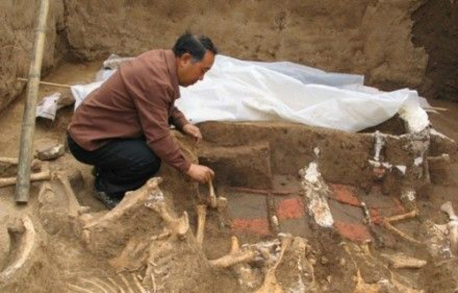 В КНР найдено одно изсамых старинных захоронений