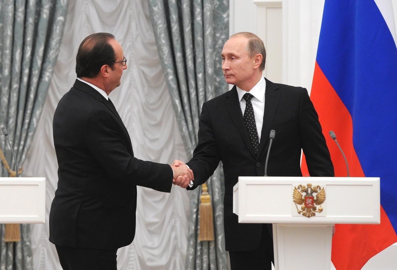 G20: Олланд снетерпением ожидает Владимира Путина воФранции
