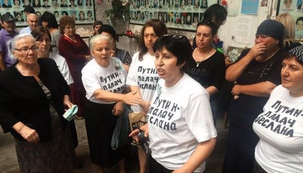 Члены СПЧ потребовали отполицейских извиниться перед участницами акции вБеслане