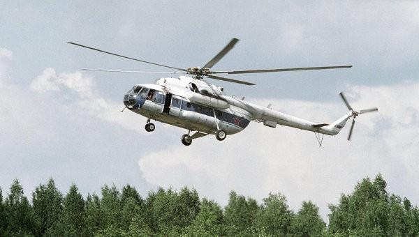 ВЯНАО вертолет МИ-8 совершил вынужденную посадку
