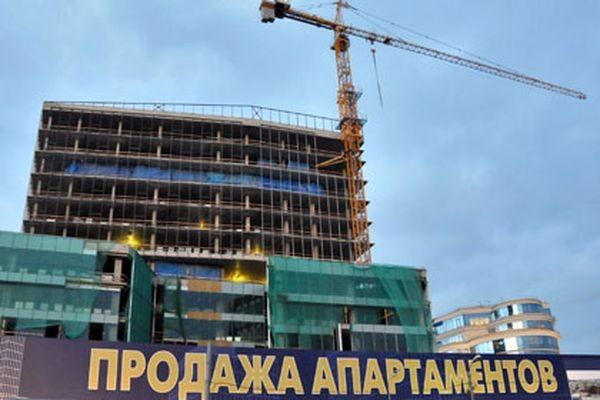 Доконца года построят 1 млн кв.м апартаментов
