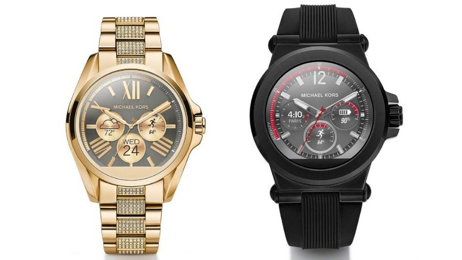 Американский бренд Michael Kors впервый раз выпустил «умные» часы