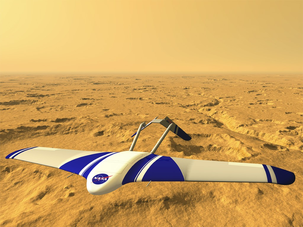 ВСША тестируют беспилотник для марсианской атмосферы