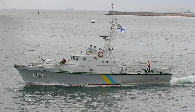 Пограничный катер опрокинулся вАзовском море