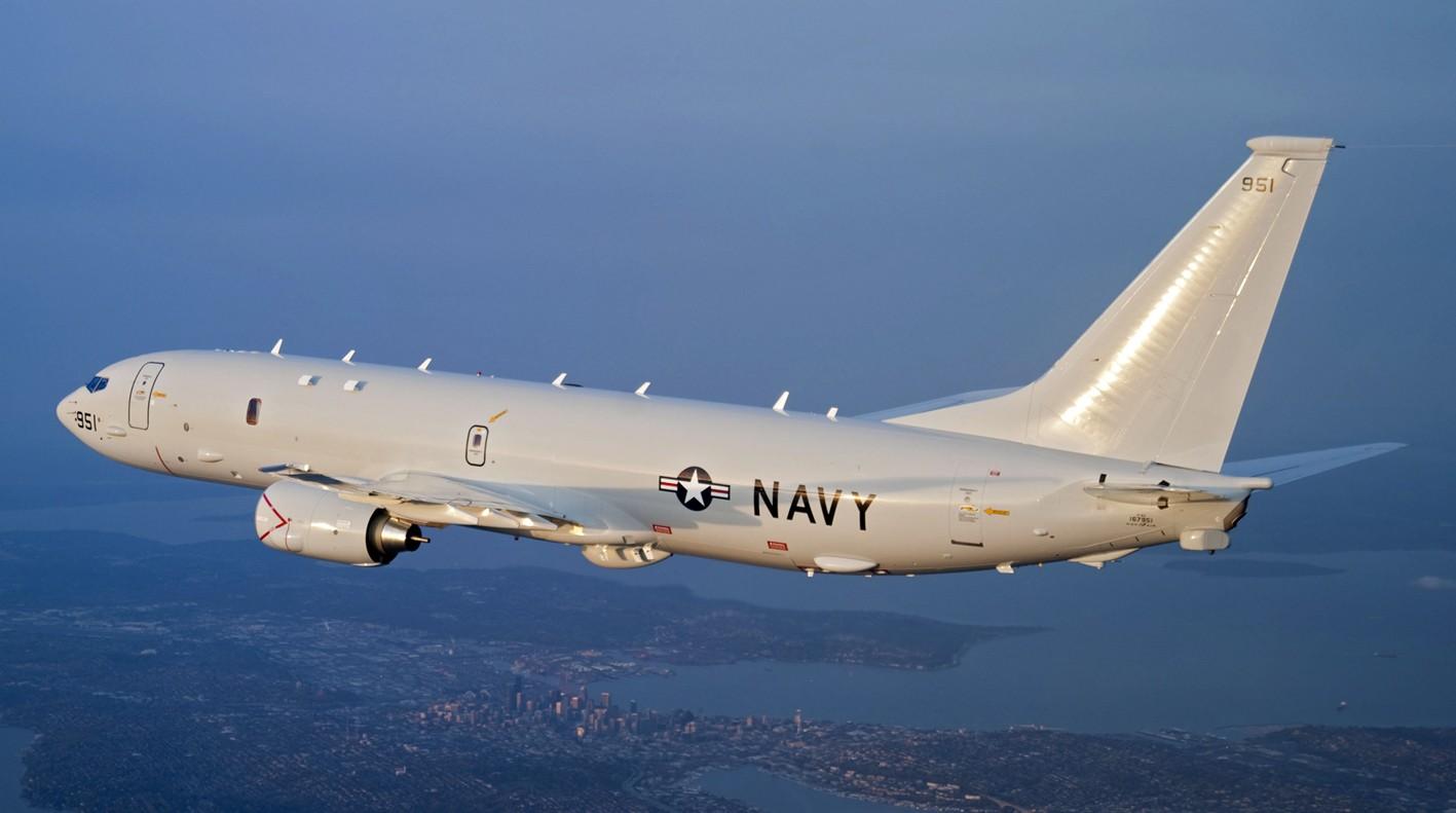 Самолет-разведчик США опять подлетел кграницамРФ