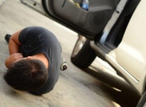 Ребенок выпал издвижущегося автомобиля вПодмосковье
