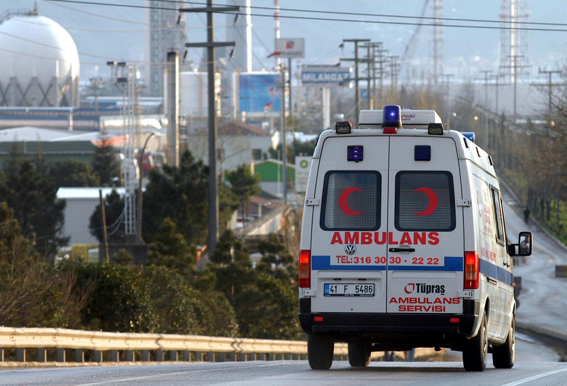 Взрыв вТурции прогремел вблизи администрации города Ван