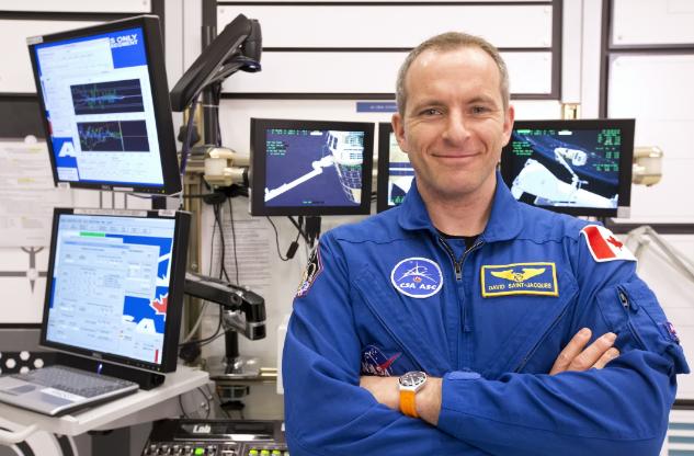 Канадский астронавт готовится в Российской Федерации кполету наМКС