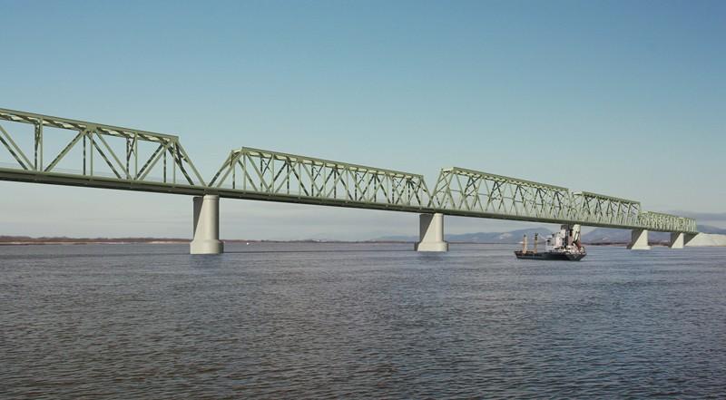 РФдостроит свою часть моста через Амур вКНР в2018 году
