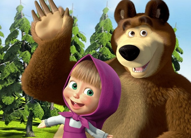 Мультфильм «Маша иМедведь» увеличивает интерес к русской анимации
