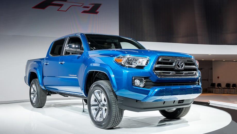 Toyota повысит объемы выпуска пикапа Tacoma в Мексике