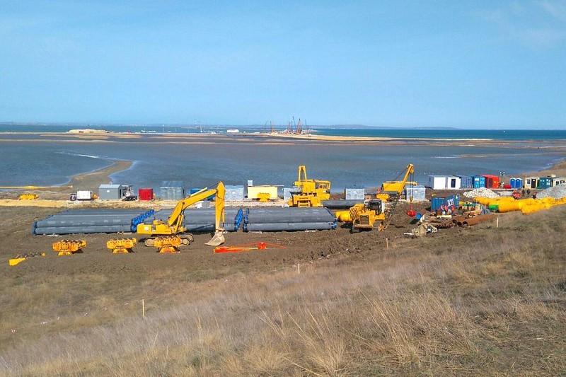 Газопровод Кубань-Крым готов на90%, объявил Минэнерго