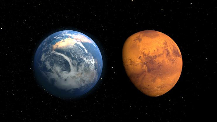 Вода наМарсе появилась на млрд. лет доэтого — Ученые