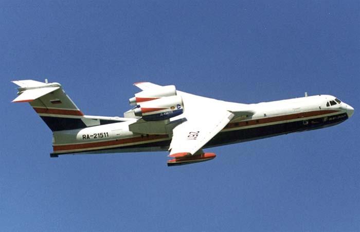 Произведенный вТаганроге самолет-амфибия Бе-200ЧС совершил 1-ый полет