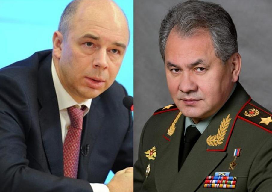 Министр финансов иМинобороны несогласовали объем снобжения деньгами госпрограммы вооружения