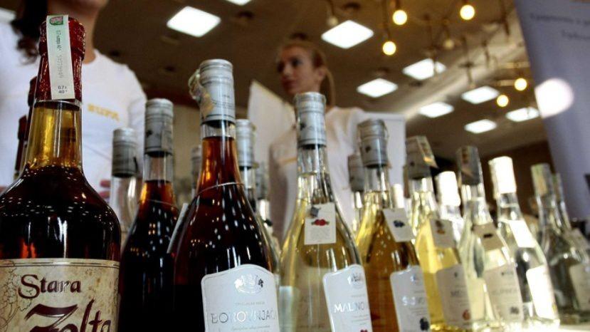 Болгария экспортирует всё больше непоколебимого алкоголя