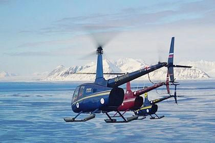 В РФ появился 1-ый личный вертолетный перевозчик