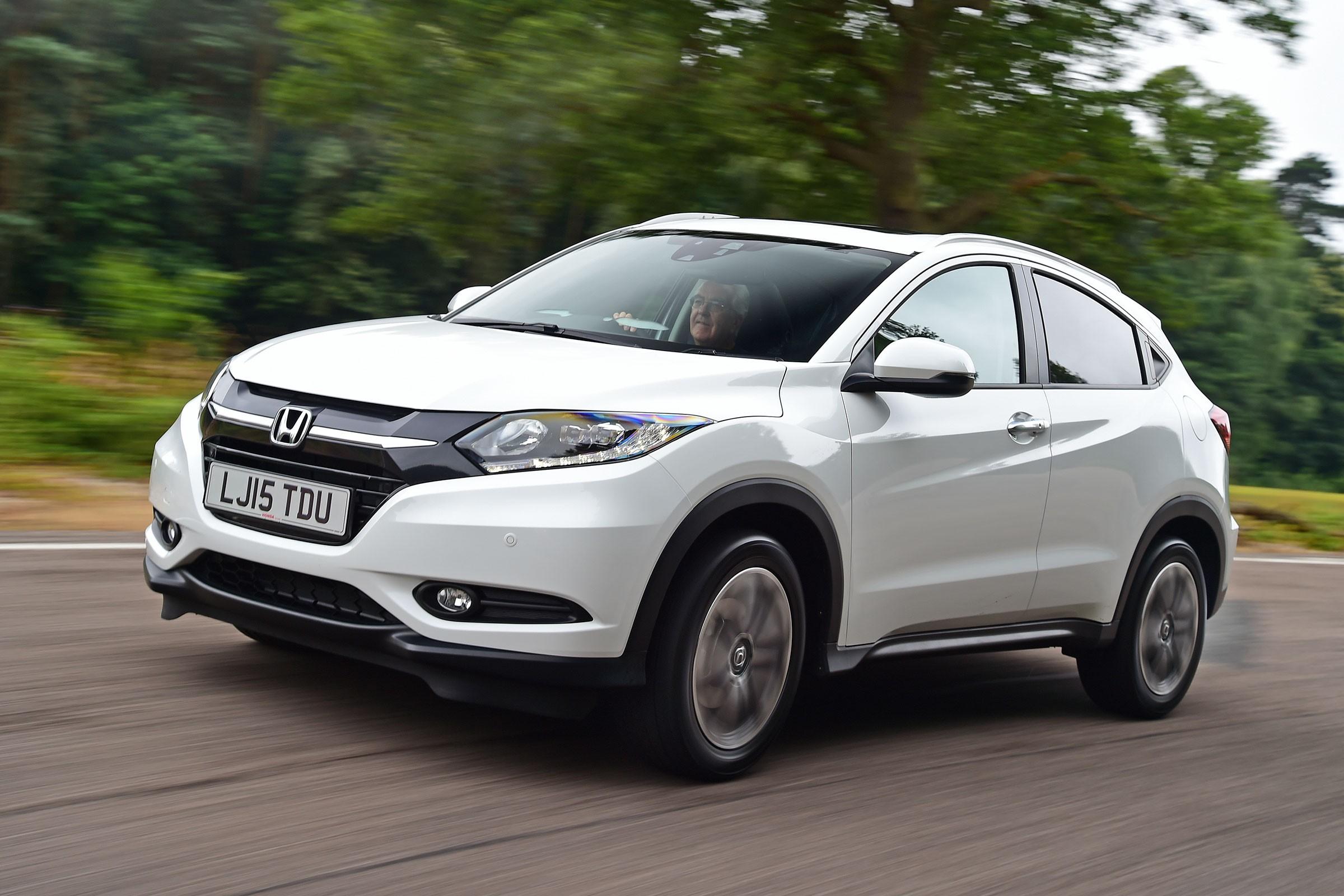 Представлен обновленный Honda HR-V