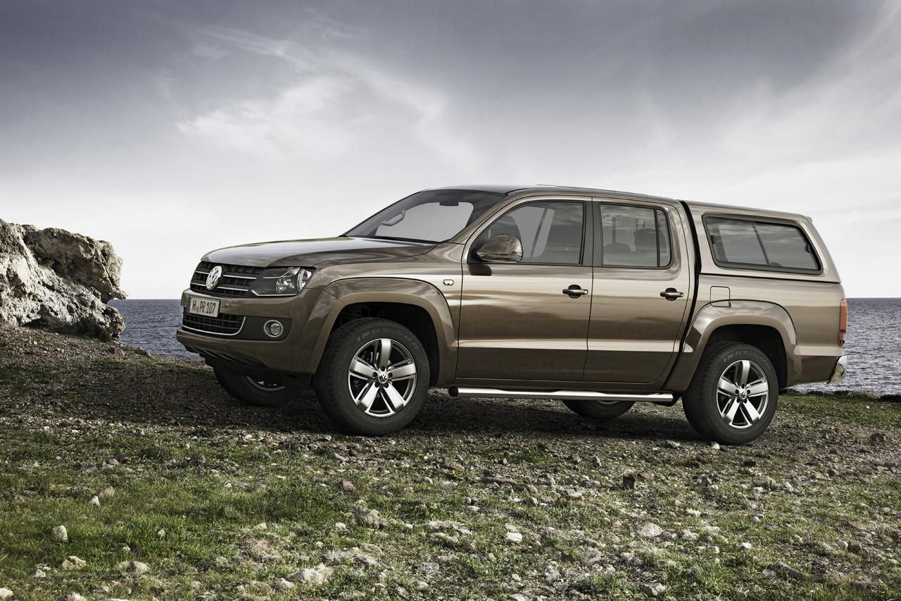 VW назвал русские цены на улучшенный пикап Amarok