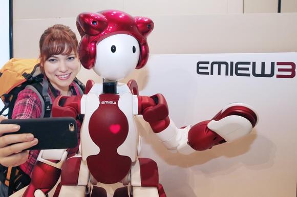 Вмеждународном аэропорту Токио появился робот-гид