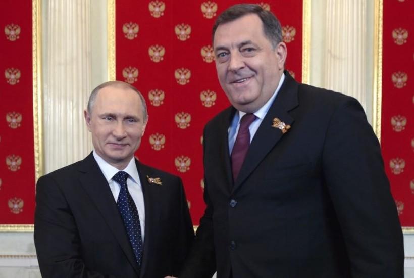 Руководитель Республики Сербской БиГ обсудит сПутиным борьбу стерроризмом
