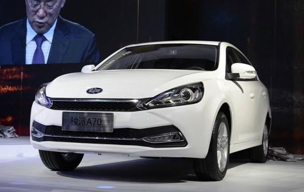 Накитайском рынке автомобилей появился новый седан FAW Junpai A70