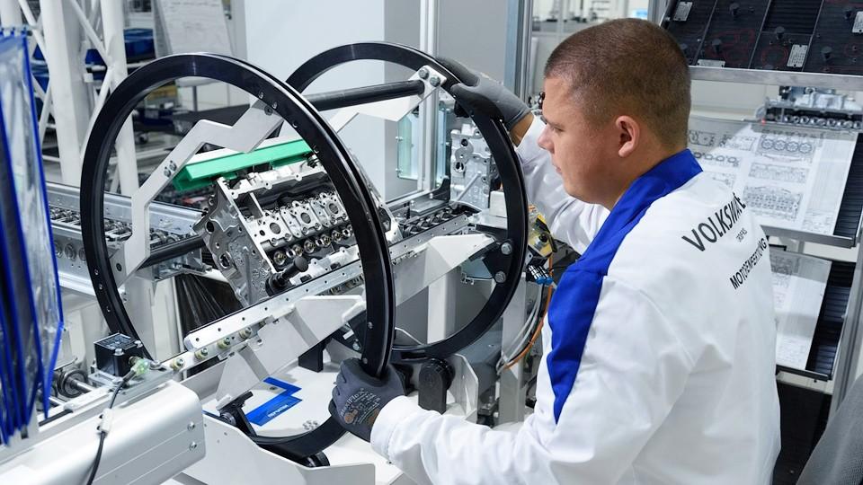 Калужский завод «Volkswagen» выпустил 100-тысячный мотор