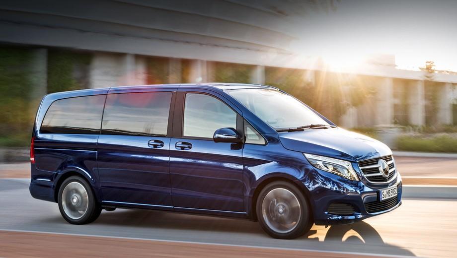Русский рынок автомобилей был дополнен минивэном Мерседес-Бенс V-Class Exclusive