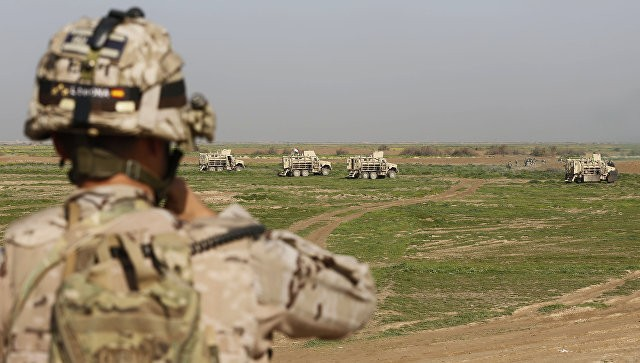WPсообщила, что США используют вИраке снаряды сбелым фосфором