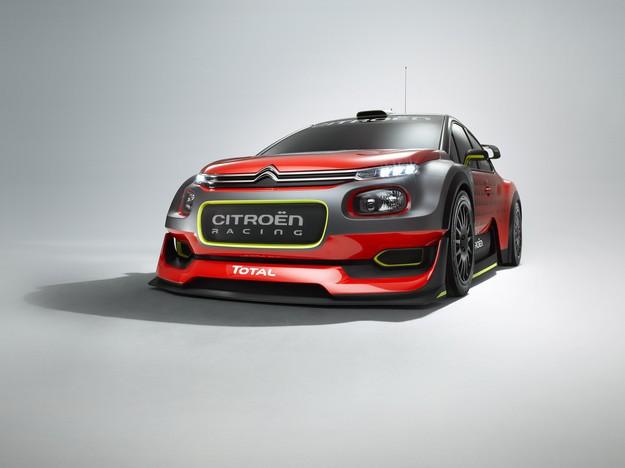 Наоснове серийной модели C3 Ситроен выпустит гоночный концептуальный автомобиль