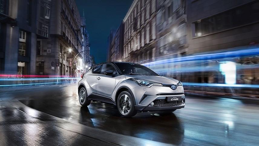 ВИспании появится новый кроссовер Тойота C-HR