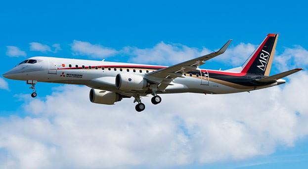 1-ый японский пассажирский самолёт начал испытательный полёт над территорией Приморья