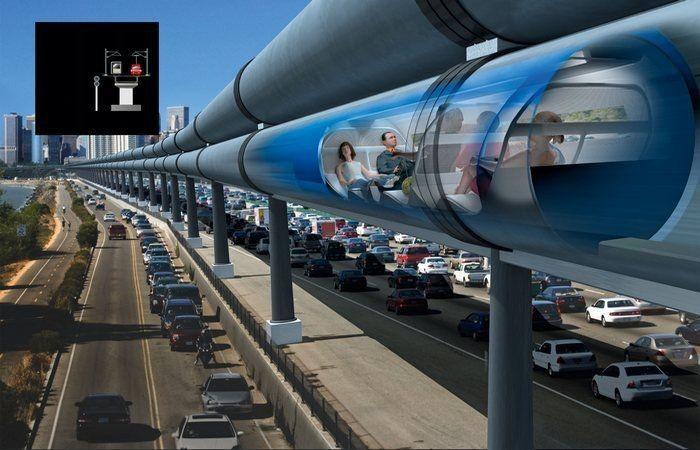 Поезд Hyperloop может совместить столицу России иЛондон