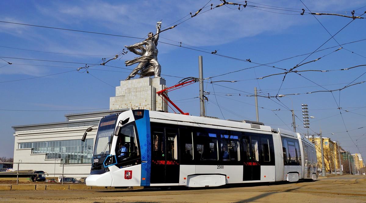 Граждане столицы смогут самостоятельно выбрать наименования идизайн для трамваев