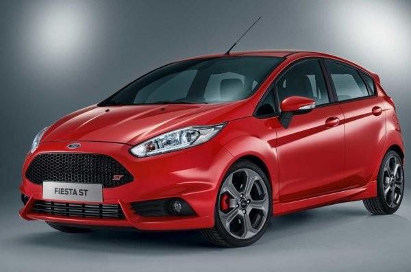 В Великобритании начались продажи пятидверного автомобиля Ford Fiesta ST