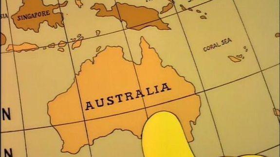 Австралию кначалу зимы подвинут на1,5 метра накартах GPS