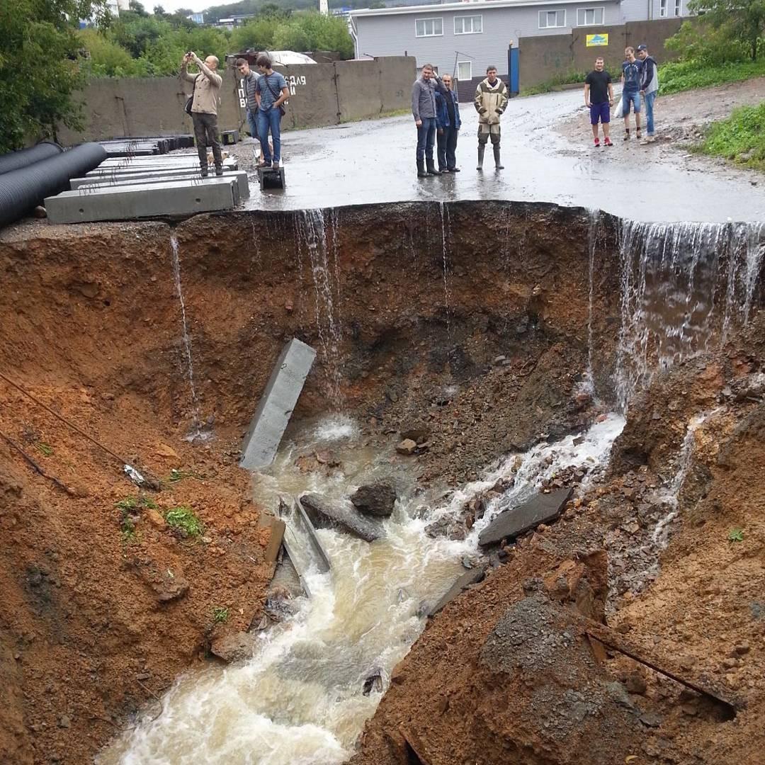 Практически 40 тыс. граждан Приморья сообщили обущербе отпаводка