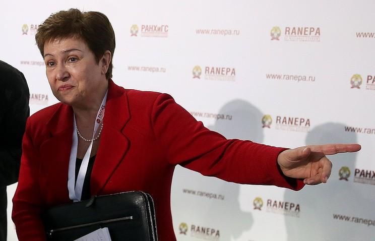Болгария выдвинула Кристалину Георгиеву кандидатом напост генерального секретаря ООН