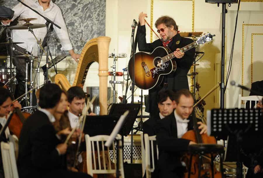 Гребенщиков готовит новейшую программу ссимфоническим оркестром