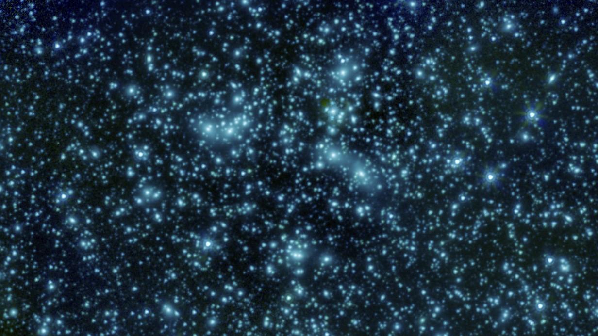 NASA опубликовало снимок кластера Пандоры