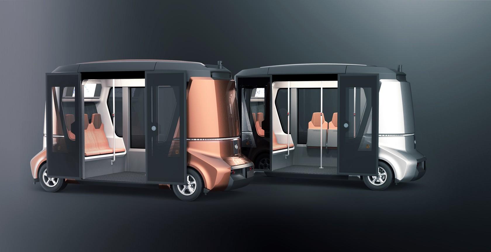 Беспилотный электрический автобус презентуют наинвестфоруме вСочи