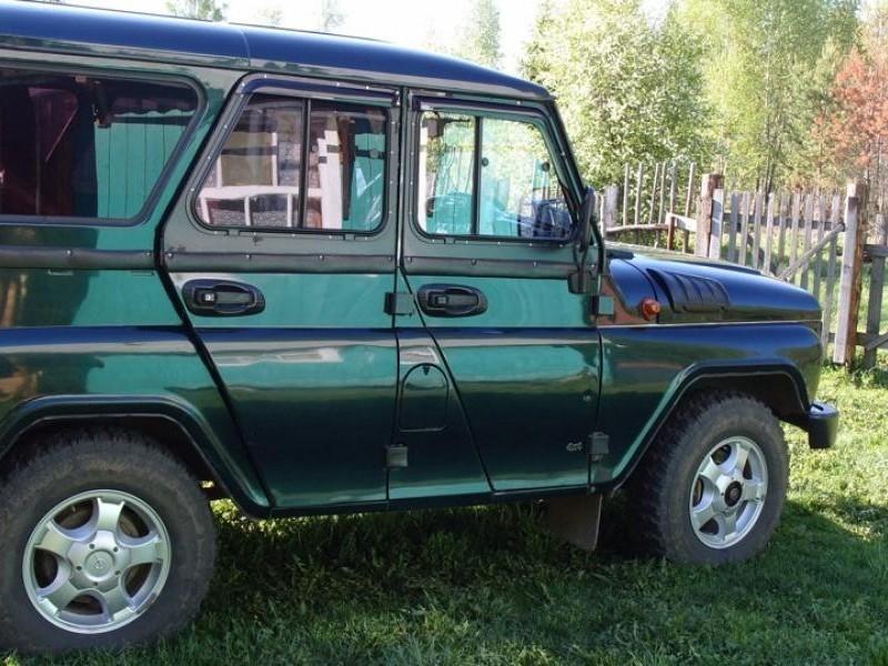 ВРФ создали неповторимый УАЗ Хантер сбензиновым V8