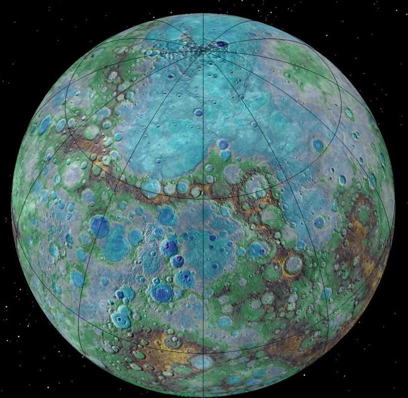Меркурий энергичен как Земля