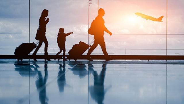Интернациональных туристов впервой половине следующего года стало больше на4%