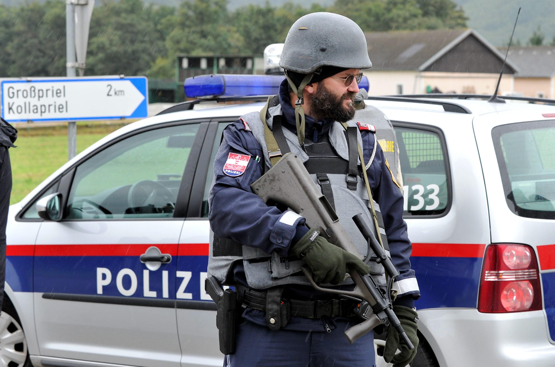 ВВене шофёр авто выкрикивал исламистские призывы ипытался задавить пешеходов