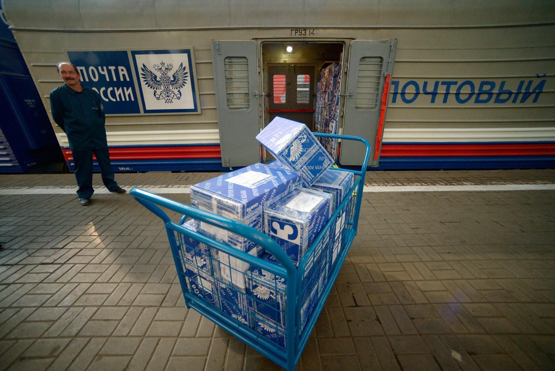 Для транспортировки посылок изКитая вРФ будет запущен специальный поезд
