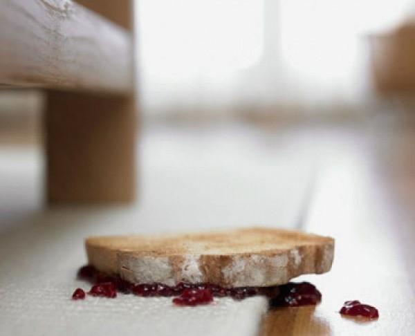 Ученые доказали, что «правило пяти секунд» для упавшей еды ошибочно