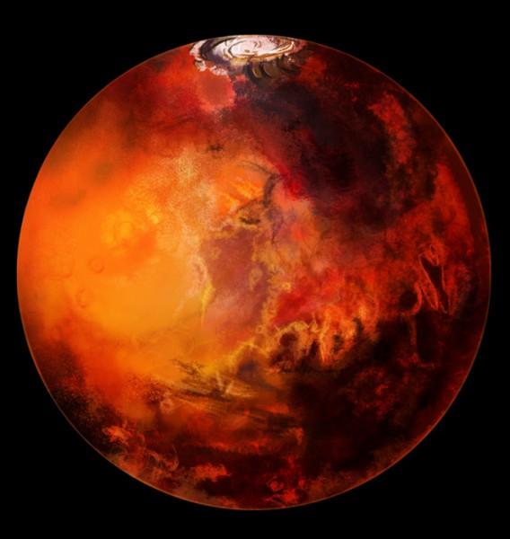 Землетрясения на Марсе могут стать причиной появления на планете жизни